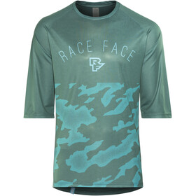 Race Face Ambush Bike Jersey Shortsleeve Men blue
